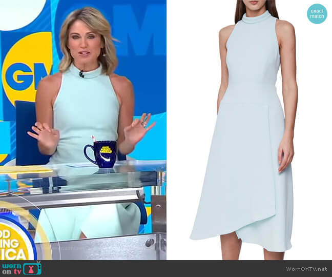 Doriana Dress by Reiss worn by Amy Robach  on Good Morning America