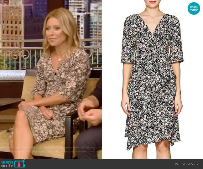 Brodie Dress by Isabel Marant worn by Kelly Ripa  on Live with Kelly & Ryan