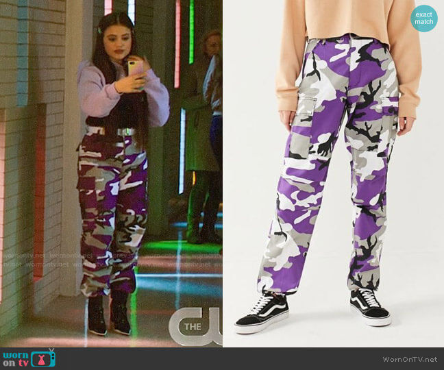 Rothco Two Tone Camo Pants worn by Maggie Vera (Sarah Jeffery) on Charmed
