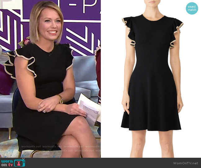 Saya Dress by Shoshanna worn by Dylan Dreyer  on Today
