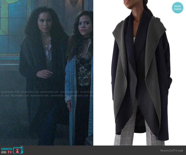 Sosken Brandy Coat worn by Macy Vaughn (Madeleine Mantock) on Charmed