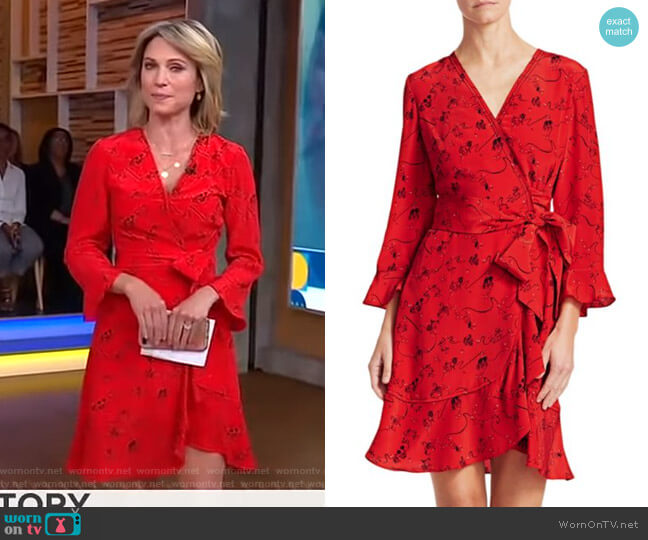 Giorgia Dress by Tanya Taylor worn by Amy Robach  on Good Morning America