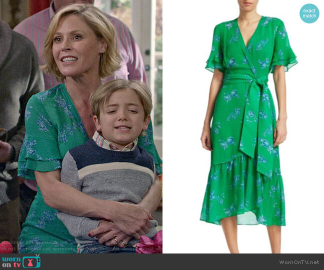 Tanya Taylor Blaire Dress worn by Claire Dunphy (Julie Bowen) on Modern Family