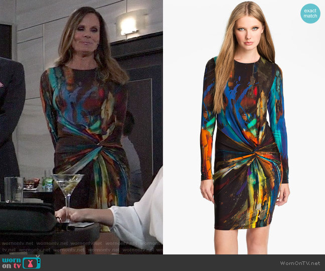 Ted Baker Pennii Dress worn by Lucy Coe (Lynn Herring) on General Hospital