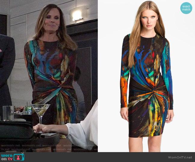 Ted Baker Pennii Dress worn by Lucy Coe (Lynn Herring) on General Hospital