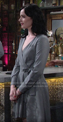 Tessa's Society waitress dress on The Young and the Restless