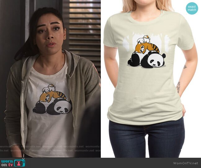 Comfy Bed Tee by Chow Hon Lam at Threadless worn by Ella Lopez (Aimee Garcia) on Lucifer