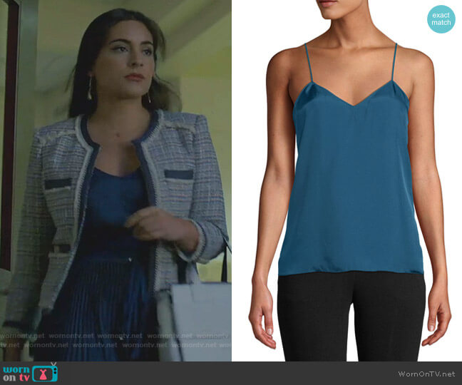 Mendini Camisole by Tibi worn by Cristal Jennings (Daniella Alonso) on Dynasty