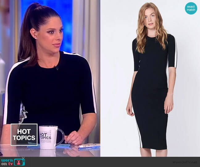 Audri Dress by Veronica Beard worn by Abby Huntsman  on The View