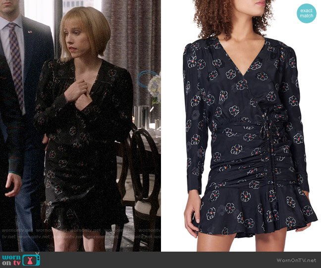 Veronica Beard Anders Dress worn by Catherine Meyer (Sarah Sutherland) on Veep