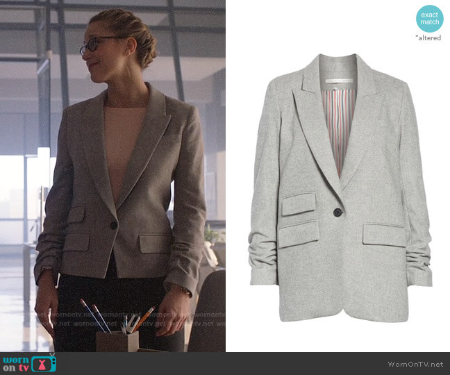 Veronica Beard Martel Jacket worn by Kara Danvers (Melissa Benoist) on Supergirl