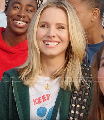 Veronica's KEEP ON MARCHING tee on Veronica Mars