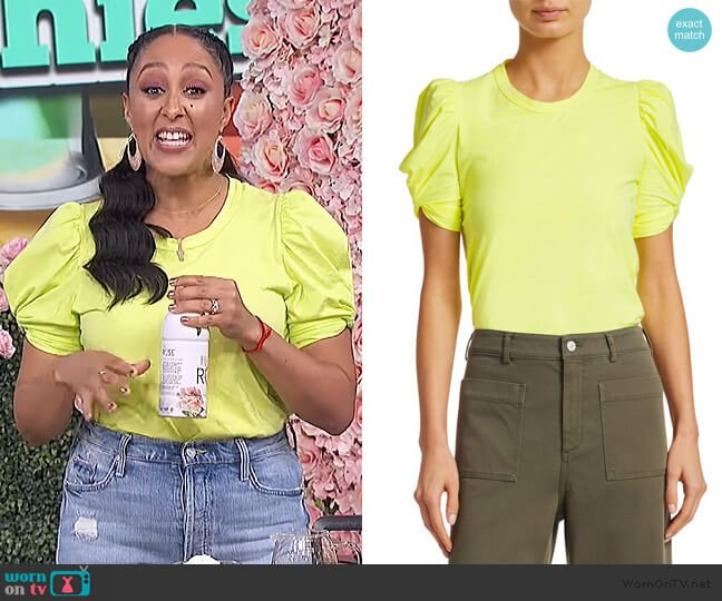 Kati Tee by A.L.C. worn by Tamera Mowry  on The Real