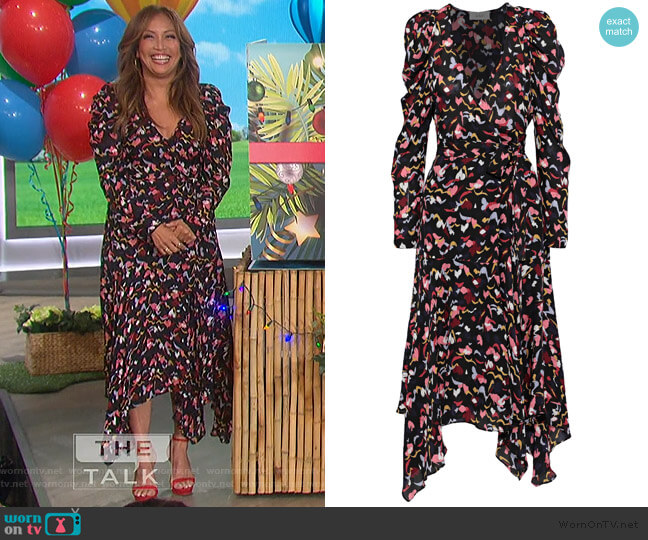 Tianna Dress by A.L.C. worn by Carrie Inaba  on The Talk