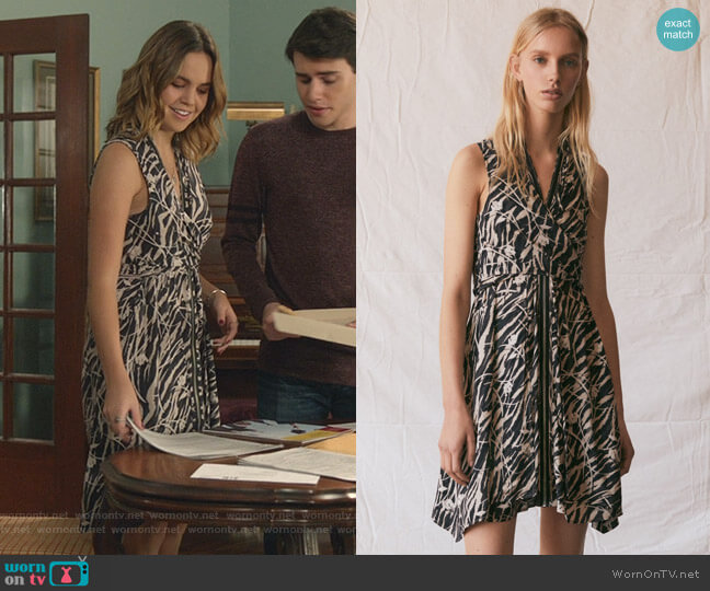 Jayda Kazuno Dress by All Saints worn by Grace Russell (Bailee Madison) on Good Witch