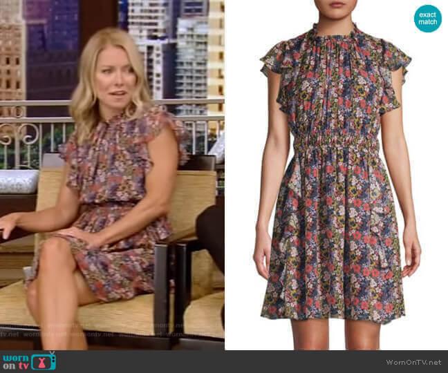 Amora Dress by Shoshanna worn by Kelly Ripa  on Live with Kelly & Ryan