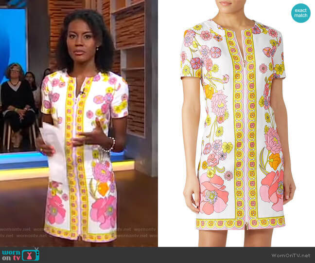 Arboretum Dress by Trina Turk worn by Janai Norman  on Good Morning America
