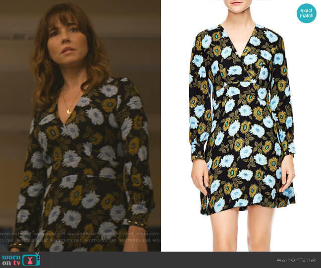 Brut Dress by Sandro worn by Judy Hale (Linda Cardellini) on Dead to Me