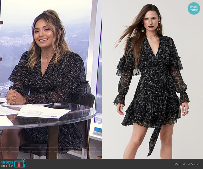 Martina Dress by Diane von Furstenberg worn by Erin Lim  on E! News