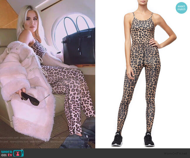 The Precision Jumpsuit by Good American worn by Khloe Kardashian  on Keeping Up with the Kardashians