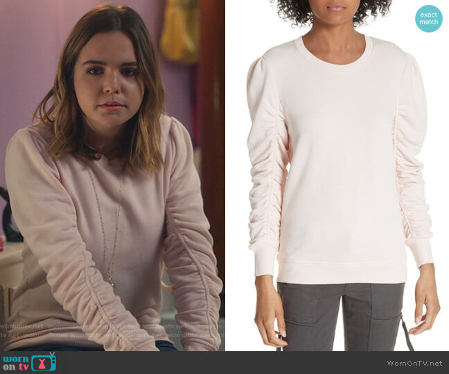 Hencia Sweatshirt by Joie worn by Grace Russell (Bailee Madison) on Good Witch