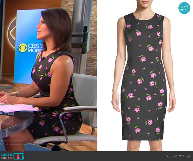 Milly Kendrea Dress worn by Dana Jacobson  on CBS This Morning