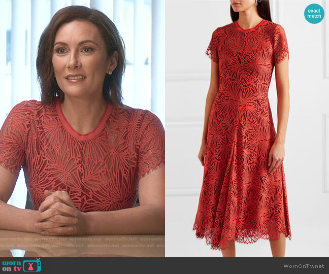 Lace Midi Dress by Proenza Schouler worn by Quinn (Laura Benanti) on Younger