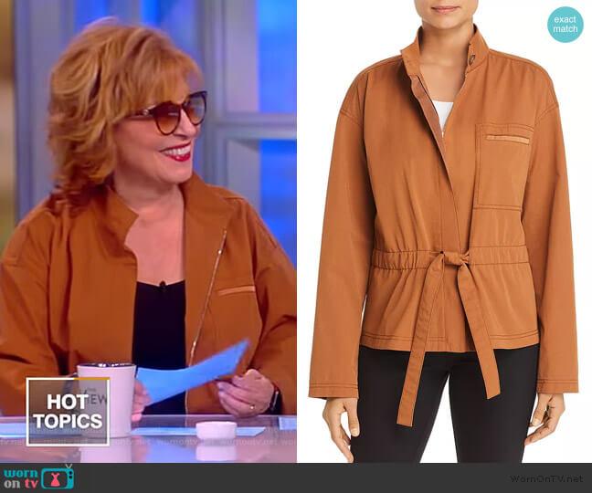 Jessa Belted Jacket by Lafayette 148 New York worn by Joy Behar  on The View