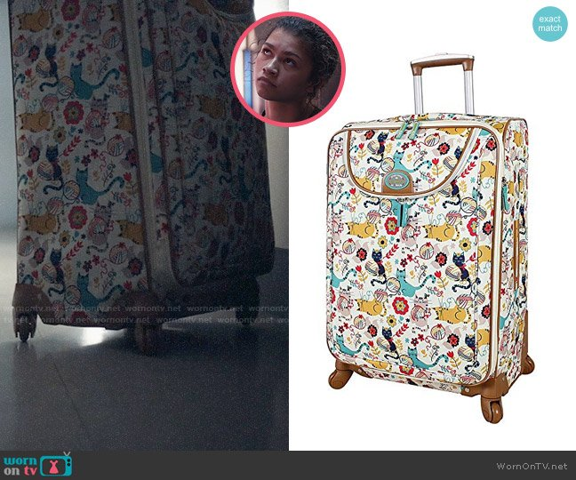 Lily Bloom Luggage in Furry Friends worn by Rue Bennett (Zendaya) on Euphoria