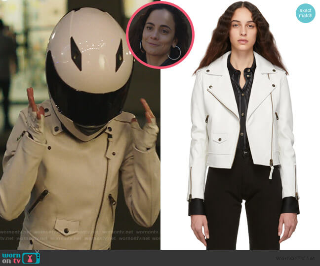 Baya Jacket by Mackage worn by Teresa Mendoza (Alice Braga) on Queen of the South