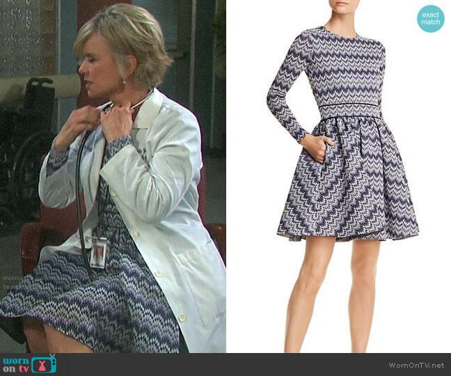 Maje Royaume Dress worn by Kayla Brady (Mary Beth Evans) on Days of our Lives