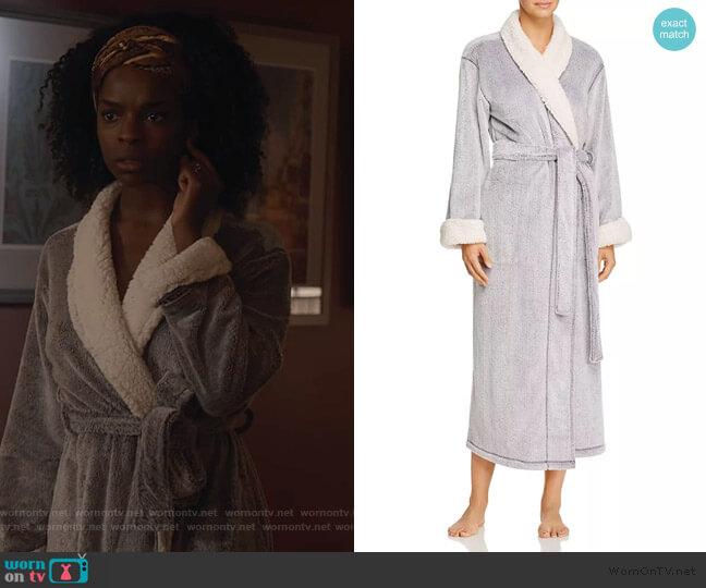 Sherpa Robe by Natori worn by Angela Archer (Samantha Marie Ware) on What/If