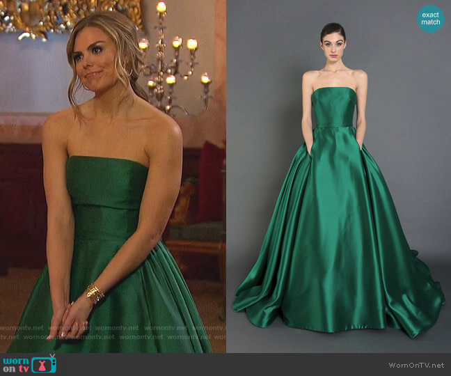 Royce Gown - Pre Fall2017 Collection by Randi Rahm worn by Hannah Brown  on The Bachelorette