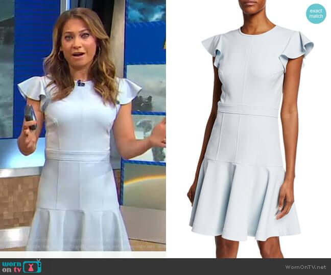 Egle Dress by Shoshanna worn by Ginger Zee  on Good Morning America
