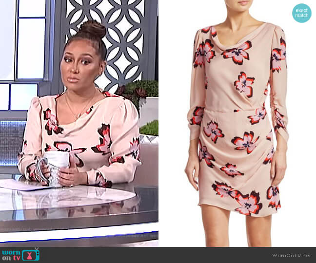 Grace Dress by A.L.C. worn by Adrienne Houghton  on The Real