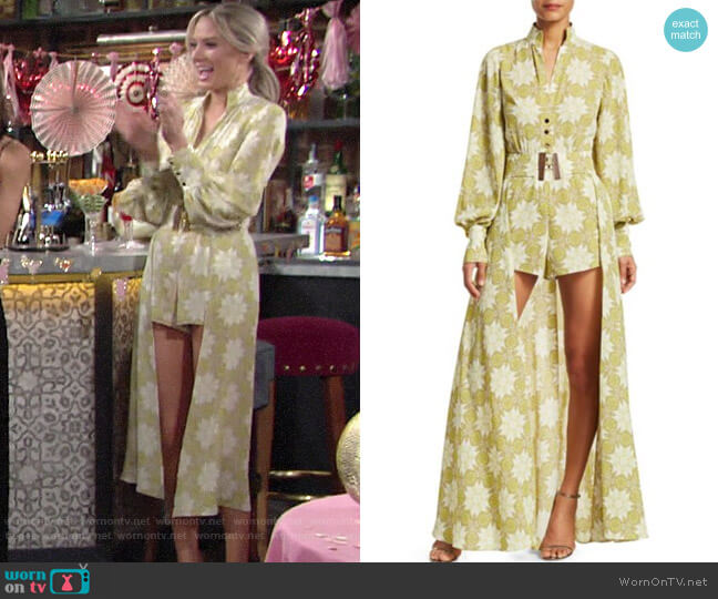 Alexis Derby Romper worn by Abby Newman (Melissa Ordway) on The Young & the Restless