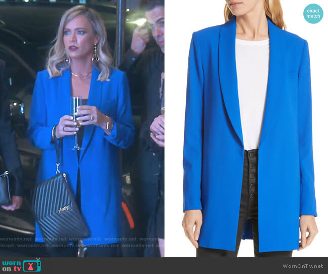 Jace Blazer by Alice + Olivia worn by Teddi Mellencamp Arroyave  on The Real Housewives of Beverly Hills