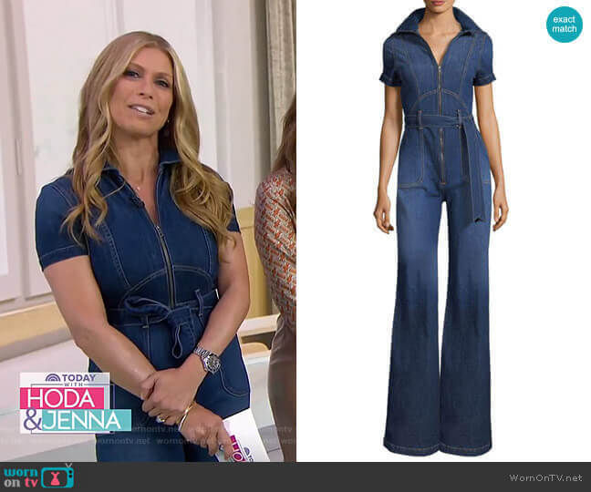 Gorgeous Jumpsuit by AO.LA by Alice + Olivia worn by Jill Martin  on Today