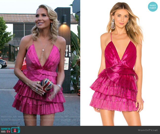 Alice McCall Don't Be Shy Dress  worn by Stephanie Pratt  on The Hills New Beginnings