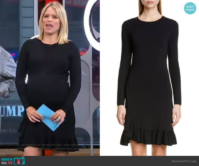 Mikey Dress by Altuzarra worn by Sara Haines  on Good Morning America