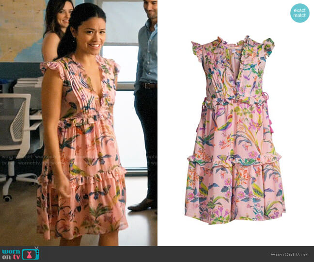 Banjanan Chandra Dress worn by Jane Villanueva (Gina Rodriguez) on Jane the Virgin