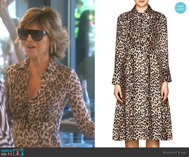 brand new offer discounts new style & luxury WornOnTV: Lisa's leopard print shirtdress on The Real ...
