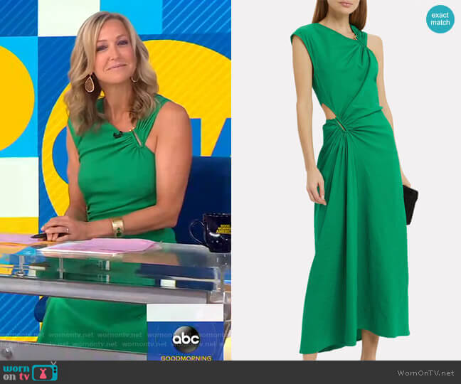 Beale Dress by A.L.C. worn by Lara Spencer  on Good Morning America