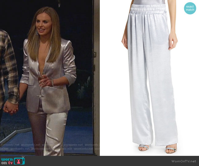 Kylie Pants by Cinq a Sept worn by Hannah Brown  on The Bachelorette