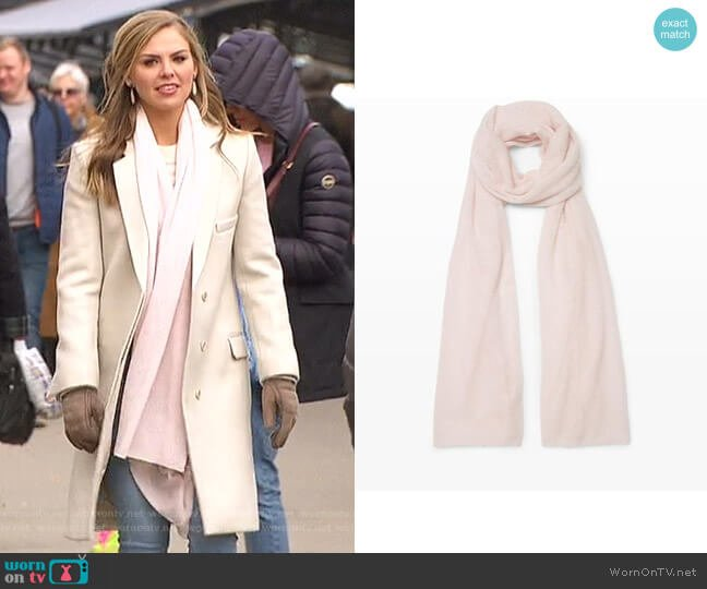Adele Scarf by Club Monaco worn by Hannah Brown  on The Bachelorette