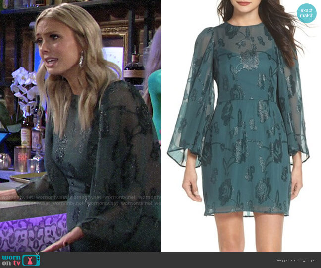 Cooper St Ophelia Dress worn by Abby Newman (Melissa Ordway) on The Young & the Restless