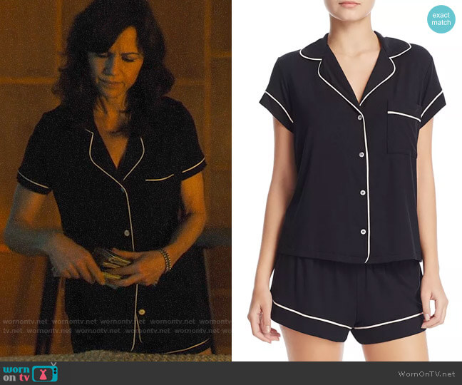 Eberjey Gisele Pajama Set worn by Daisy Kowalski (Carla Gugino) on Jett