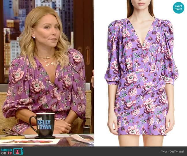 Faro Dress by Magda Butrym worn by Kelly Ripa  on Live with Kelly & Ryan