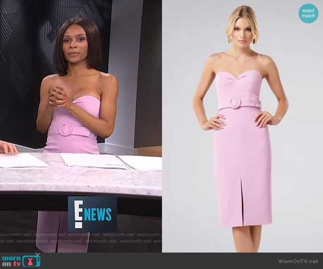 Claudia Bodycon Dress by Forever New worn by Zuri Hall  on E! News