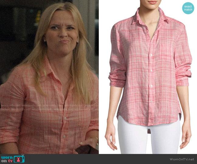 Frank & Eileen Eileen Shirt worn by Madeline Martha Mackenzie (Reese Witherspoon) on Big Little Lies